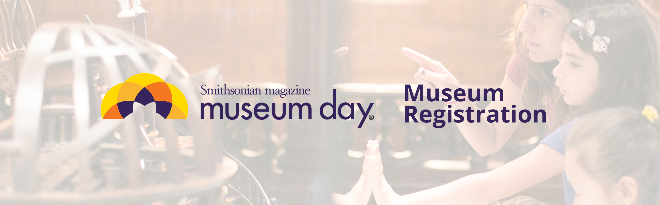Museum Day registration banner