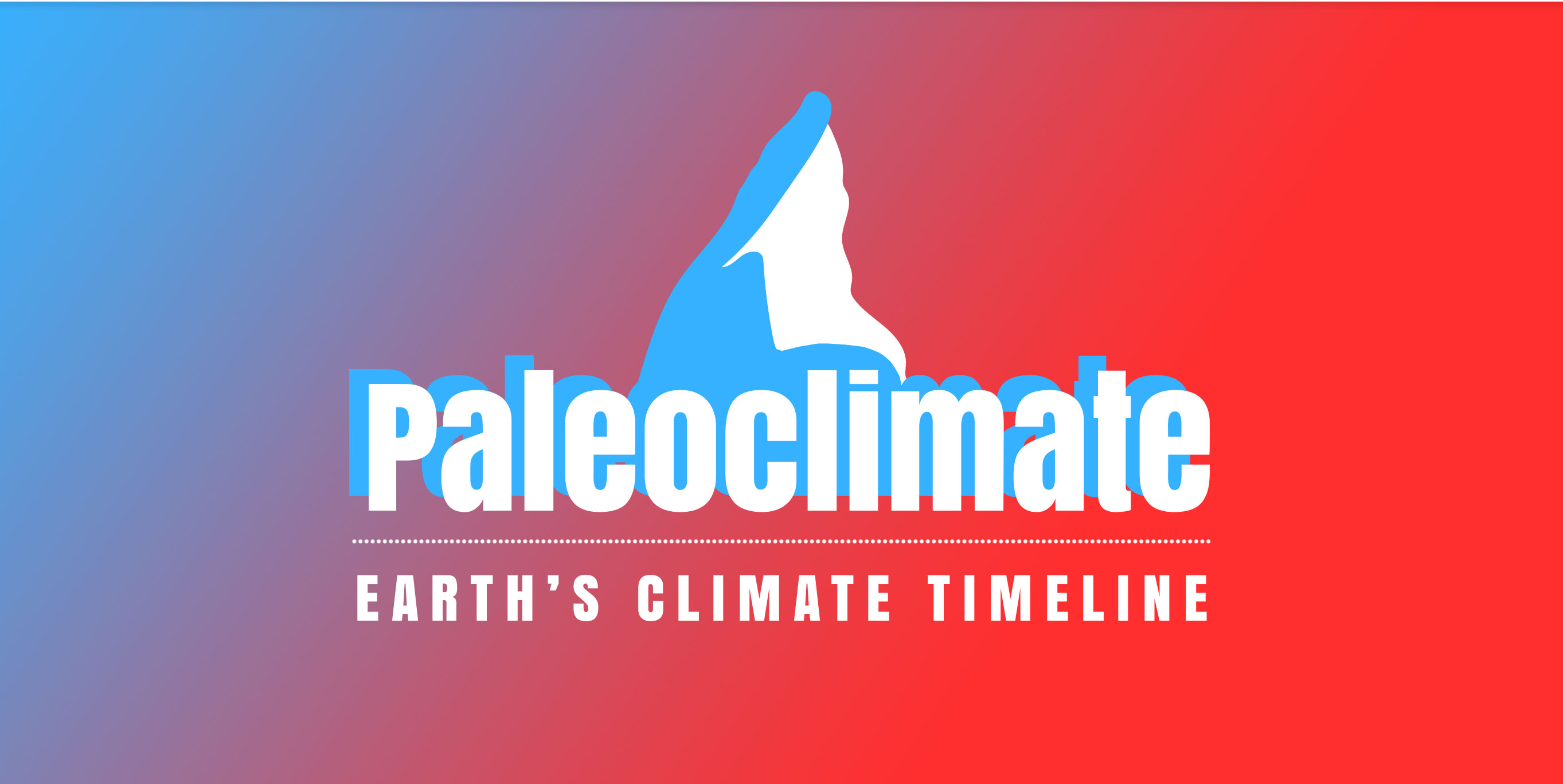 Paleoclimate Timeline graphic